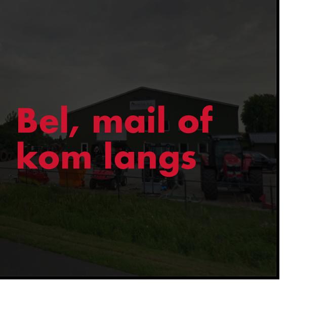 Agrotechniek Oosterink Mail