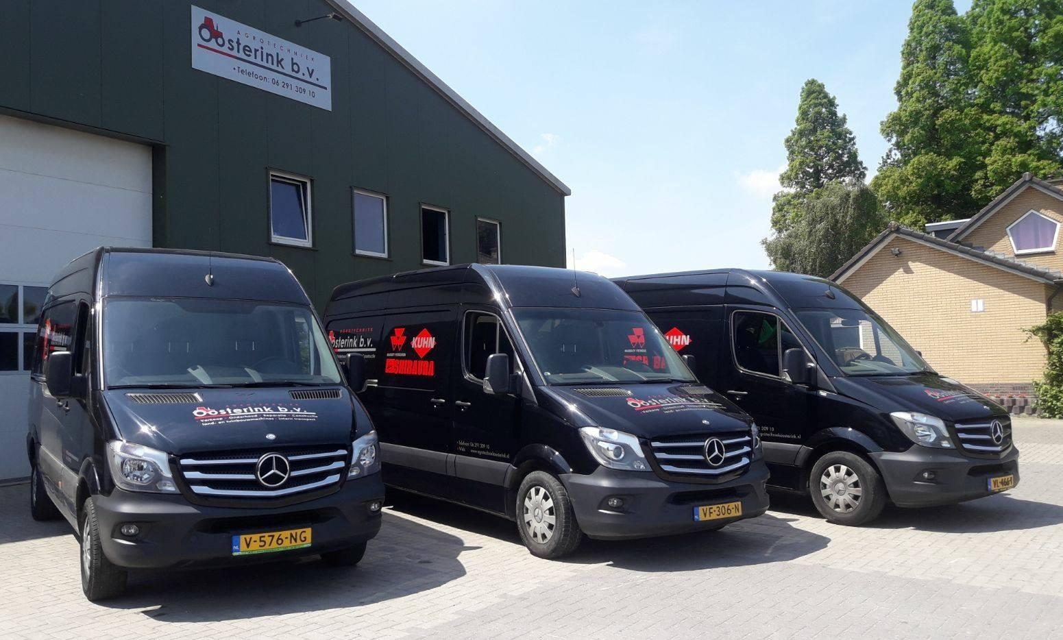 Service Agrotechniek Oosterink servicebussen